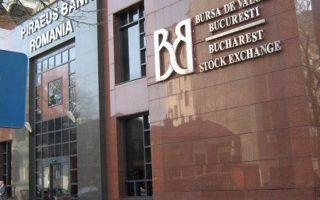 Το χρηματιστήριο στο Βουκουρέστι εμφάνισε απώλειες 12%, σημειώνοντας τη μεγαλύτερη πτώση από το 2009.