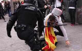 Κατά τη διάρκεια των επεισοδίων συνελήφθησαν έντεκα διαδηλωτές.