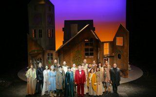 Η «Χριστουγεννιάτικη ιστορία» του Τσαρλς Ντίκενς παρουσιάζεται ως μιούζικαλ σε πρωτότυπη μουσική του Θοδωρή Οικονόμου.