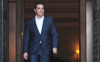 Ο πρωθυπουργός συναντήθηκε χθες με το προεδρείο της Ελληνικής Ενωσης Τραπεζών, στο Μέγαρο Μαξίμου.