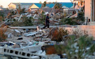 Η μεγαλύτερη καταστροφή που προκλήθηκε από την κλιματική αλλαγή, και εκτιμάται ότι συνολικά ξεπέρασε τα 32 δισ. δολάρια, οφείλεται στους τυφώνες «Φλόρενς» και «Μάικλ», που έπληξαν τις ΗΠΑ με διαφορά ενός μήνα. Ο τυφώνας «Φλόρενς», που προκάλεσε ζημία 17 δισ. δολαρίων, ήταν ο τρίτος ισχυρότερος που έχει χτυπήσει ποτέ τις ΗΠΑ. Ο τυφώνας «Μάικλ», που έσπειρε την καταστροφή τον Οκτώβριο στη Φλόριντα, έφθασε τα 250 χιλιόμετρα την ώρα.