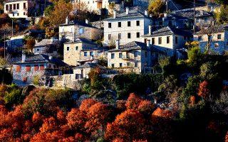 Το χωριό Βίτσα. (Φωτογραφία: ΓΙΩΡΓΟΣ ΤΣΑΦΟΣ)