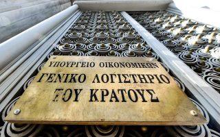 Η βαριά σιδερένια πόρτα του Γενικού Λογιστηρίου του Κράτους επί της Πανεπιστημίου. Το ΓΛΚ εισηγήθηκε να μην προωθηθούν οι τροπολογίες για εγκρίσεις, εκ των υστέρων, δαπανών ύψους 900 εκατ. ευρώ. Δεν εισακούστηκε.