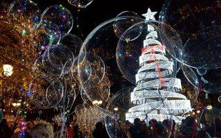 Το περσινό χριστουγεννιάτικο δέντρο στο Σύνταγμα