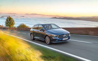 Η νέα B-Class της Mercedes συνδυάζει με ξεχωριστό τρόπο την πολυχρηστικότητα ενός MPV με την προηγμένη τεχνολογία.