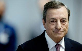 Φωτογραφία: O επικεφαλής της ΕΚΤ, Μάριο Ντράγκι/Αssociated Press