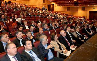 Ο κ. Χαρίτσης πήγε στο συνέδριο της Κεντρικής Ενωσης Δήμων Ελλάδος για να τους πει τα προβλήματά τους...