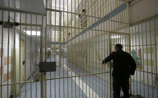 Διάδρομος με κελία στις φυλακές Αυλώνα, την Πέμπτη 18 Δεκεμβρίου 2014. O υπουργός Δικαιοσύνης, Διαφάνειας και Ανθρωπίνων Δικαιωμάτων Χαράλαμπος Αθανασίου παρευρέθηκε σε χριστουγεννιάτικη εκδήλωση στις φυλακές νέων Αυλώνα. ΑΠΕ-ΜΠΕ/ΑΠΕ-ΜΠΕ/ΓΙΑΝΝΗΣ ΚΟΛΕΣΙΔΗΣ