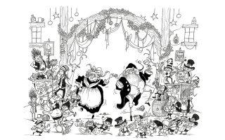 Οσο πιο κοινότοπο το θέμα (Χριστούγεννα, Πρωτοχρονιά), τόσο πιο εντυπωσιακές οι επιδόσεις πρωτοτυπίας και τσαχπινιάς των συγγραφέων και των εικονογράφων.