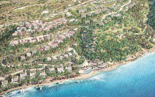 Η Mirum Hellas, συμφερόντων του Ρώσου επενδυτή ακινήτων Βιτάλι Μπορίσοφ, επιχειρεί την ανάπτυξη του έργου Elounda Hills, για το οποίο έχει μέχρι σήμερα δαπανήσει περί τα 70 εκατ. ευρώ, προκειμένου να αποκτήσει δεκάδες οικόπεδα, διαμορφώνοντας μια ενιαία παραθαλάσσια έκταση της τάξεως των 1.000 στρεμμάτων και έξι περιφερειακές εκτάσεις συνολικής επιφάνειας άλλων 200 στρεμμάτων.