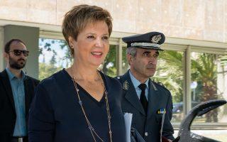 (Ξένη Δημοσίευση) Η υπουργός  Προστασίας του Πολίτη Όλγα Γεροβασίλη προσέρχεται στην ημερίδα με θέμα: «ο ρόλος και η συμβολή της Ελληνικής Αστυνομίας στην προστασία των ζώων», που διοργάνωσε το Αρχηγείο της Ελληνικής Αστυνομίας, την Πέμπτη 20 Σεπτεμβρίου 2018, στο Πολεμικό Μουσείο Αθηνών, παρουσία της Πολιτικής και Φυσικής Ηγεσίας του Σώματος, Πέμπτη 20 Σεπτεμβρίου 2018. ΑΠΕ-ΜΠΕ/Υπουργείο Προστασίας του Πολίτη/STR