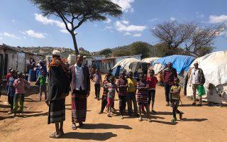 Περίπου 80.000 ανθρώπους φιλοξενεί σήμερα ο καταυλισμός στα σύνορα Αιθιοπίας - Σομαλίας, σε μια απομονωμένη περιοχή.