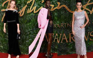 Η Uma Thurman, το supermodel Alek Wek και η Penelope Cruz.