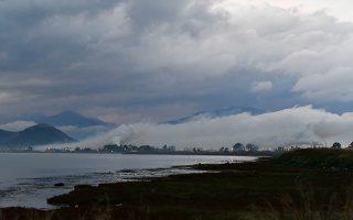 Έντονη συννεφιά με βροχή στην ευρύτερη περιοχή της Αργολίδος, Πέμπτη 29 Νοεμβρίου 2018.  ΑΠΕ-ΜΠΕ /ΑΠΕ-ΜΠΕ/ΜΠΟΥΓΙΩΤΗΣ ΕΥΑΓΓΕΛΟΣ