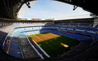 Santiago Bernabeu stadium is seen in Madrid, Spain, December 5, 2018. REUTERS/Juan Medina