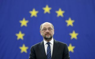 FILE PHOTO: Outgoing President  of the European Parliament President Martin Schulz attends the announcement of the candidates for the election to the office of the President at the European Parliament in Strasbourg, France, January 16, 2017. REUTERS/Christian Hartmann/Files