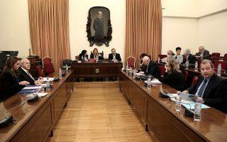 Ο πρόεδρος της Επιτροπής Ανταγωνισμού Δημήτρης Κυριτσάκης παρίσταται για ακρόαση στην Ειδική Μόνιμη Επιτροπή Θεσμών και Διαφάνειας της Βουλής με θέμα ημερήσιας διάταξης: Συζήτηση επί των Εκθέσεων Πεπραγμένων, ετών 2016 και 2017 της Επιτροπής Ανταγωνισμού, Τρίτη 11 Δεκεμβρίου 2018. ΑΠΕ-ΜΠΕ/ΑΠΕ-ΜΠΕ/ΣΥΜΕΛΑ ΠΑΝΤΖΑΡΤΖΗ