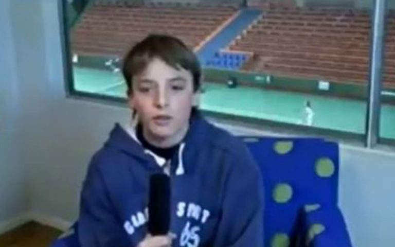 Οταν ο Στ. Τσιτσιπάς σε ηλικία 13 ετών μιλούσε για το είδωλό του τον Ρ. Φέντερερ (βίντεο)