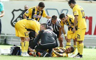 Κατά τη διάρκεια του αγώνα ΟΦΗ – ΑΕΚ ο Λόπες υπέστη ρήξη πρόσθιου χιαστού και αναμένεται να επιστρέψει στα γήπεδα σε μερικές εβδομάδες.