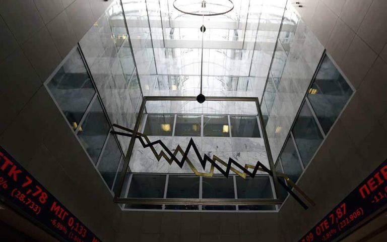 Με πτώση 1,30% έκλεισε η πρώτη συνεδρίαση του 2019 στο Χρηματιστήριο