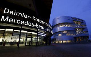 Η ανησυχία αντανακλάται και στις απαισιόδοξες προβλέψεις που ανακοινώνουν γερμανικοί κολοσσοί, όπως η αυτοκινητοβιομηχανία Daimler, σχετικά με την κερδοφορία τους.