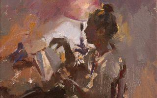 Το έργο του Στέλιου Πετρουλάκη στο εικαστικό αφιέρωμα στον Τσέχοφ «Ενας Βυσσινόκηπος στην οδό Σταδίου».