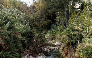 Ο Ποδονίφτης είναι το τελευταίο ανοικτό ποτάμι στα όρια του Δήμου Αθηναίων.