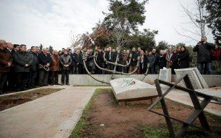 Ο βανδαλισμός του εβραϊκού μνημείου του Ολοκαυτώματος στη Θεσσαλονίκη, παραμονές της επετείου της απελευθέρωσης του Αουσβιτς, που τιμήθηκε σε εκδήλωση στην Αθήνα χθες, αποτέλεσε ακόμη μία θλιβερή επιβεβαίωση της αγωνίας για την ενίσχυση της απειλής του αντισημιτισμού τα τελευταία χρόνια στην Ευρώπη.