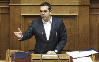 Ο Αλ. Τσίπρας απέκρουσε όσα είπε ο πρόεδρος της αξιωματικής αντιπολίτευσης περί «σικέ» διαζυγίου με τον Πάνο Καμμένο.