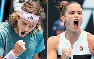 Μπασιλασβίλι και Μπάρτι είναι οι επόμενοι αντίπαλοι των δύο Ελλήνων πρωταθλητών στο γκραν σλαμ της Μελβούρνης.