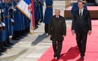 Είκοσι μία συμφωνίες υπέγραψε ο Πούτιν με τον Βούτσιτς. Ανάμεσά τους, ανακαινίσεις υδροηλεκτρικών σταθμών, ανακατασκευή τμημάτων του σιδηροδρομικού δικτύου, πυρηνική ενέργεια για ειρηνικούς σκοπούς, κατασκευή αποθηκών ρωσικού φυσικού αερίου, πυρηνική και ψηφιακή τεχνολογία κ.ά.