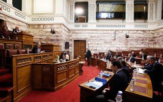 Η συζήτηση της συμφωνίας στην Ολομέλεια της Βουλής αρχίζει σήμερα και, σύμφωνα με τον κανονισμό, αναμένεται να τεθεί προς ψήφιση αργά το βράδυ της Πέμπτης.