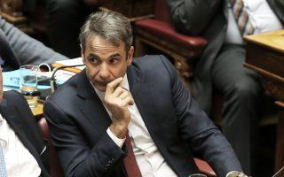 Ο Κυρ. Μητσοτάκης κάλεσε χθες για ακόμη μια φορά όλους τους βουλευτές να αναλάβουν τις ευθύνες τους.