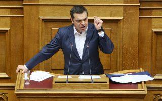 «Το βασικό σας πρόβλημα δεν είναι η συμφωνία. Το βασικό σας πρόβλημα είναι ο ΣΥΡΙΖΑ. Το βασικό σας πρόβλημα είμαι εγώ», είπε ο πρωθυπουργός Αλ. Τσίπρας προς την κ. Φώφη Γεννηματά.