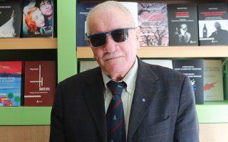 Ο Ρουμάνος συγγραφέας Γιον Ποπέσκου Τοπολόγκ (φωτ. Στράτος Προυσαλης).