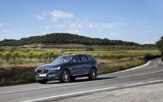 Το Volvo XC60 βρίσκεται στην πρώτη θέση στην κατηγορία του με 38,5%.