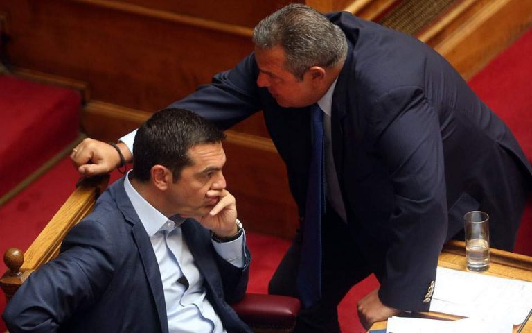 Γαλλικός Τύπος: Κυβερνητική κρίση στην Ελλάδα για το όνομα της ΠΓΔΜ