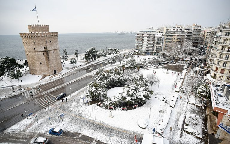 Προβλήματα από τον παγετό στη Θεσσαλονίκη – Κλειστό σήμερα το ΤΕΙ
