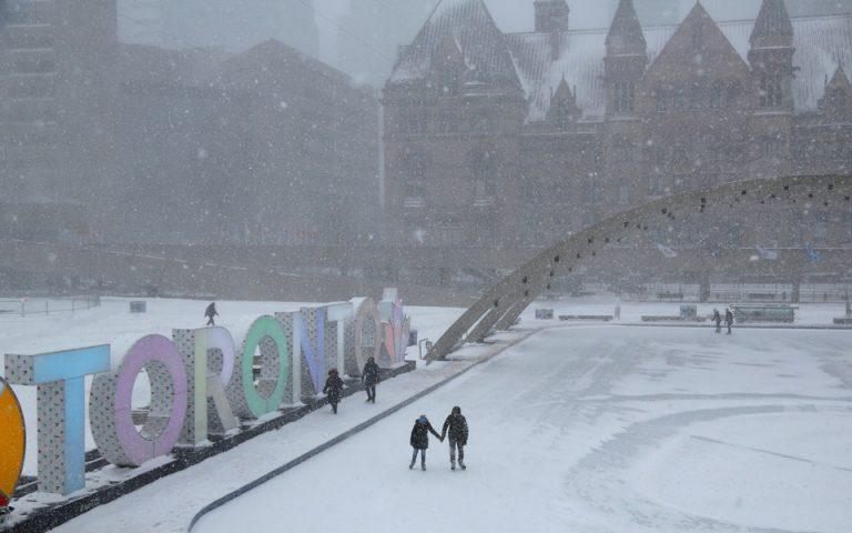 ΗΠΑ: Κύμα πολικού ψύχους πλήττει τις βόρειες πολιτείες – Δριμύ ψύχος και σε επαρχίες του Καναδά