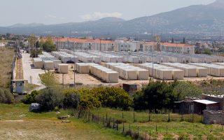 Αποψη του προαναχωρησιακού κέντρου κράτησης αλλοδαπών στην Αμυγδαλέζα, το οποίο ο ΣΥΡΙΖΑ την περίοδο που βρισκόταν στην αντιπολίτευση χαρακτήριζε «Νταχάου».