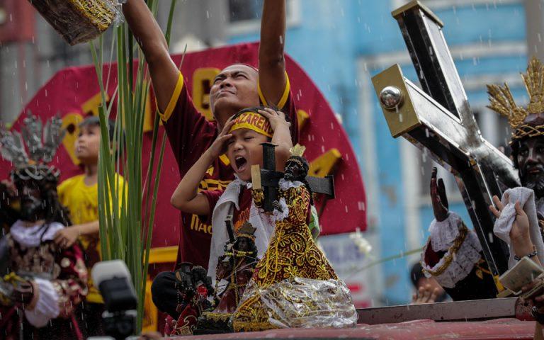 Ξεκίνησε το προσκύνημα του «Μαύρου Ναζωραίου» στη Μανίλα (φωτογραφίες)