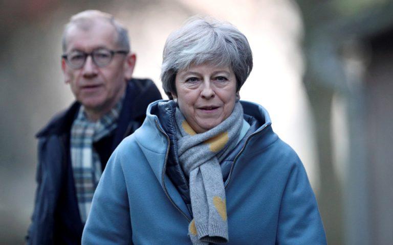 Τηλεδιάσκεψη Μέι με υπουργούς της για το Brexit