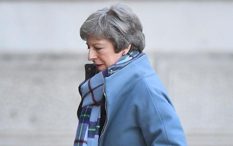 Brexit: Στις 13 Φεβρουαρίου η ψηφοφορία για το plan B της Μέι