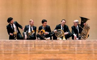 Το ιστορικό κουιντέτο Canadian Brass στο Μέγαρο Μουσικής Αθηνών.