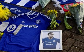 Soccer Football - Cardiff City - Cardiff City Stadium, Cardiff, Britain - January 23, 2019   General view of tributes left outside the stadium for Emiliano Sala  REUTERS/Rebecca Naden