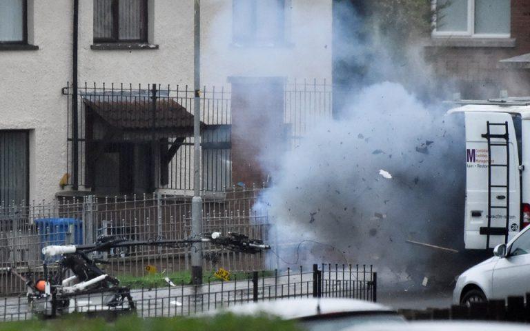 Β. Ιρλανδία: Συναγερμός στο Λοντοντέρι μετά τον εντοπισμό ύποπτου οχήματος