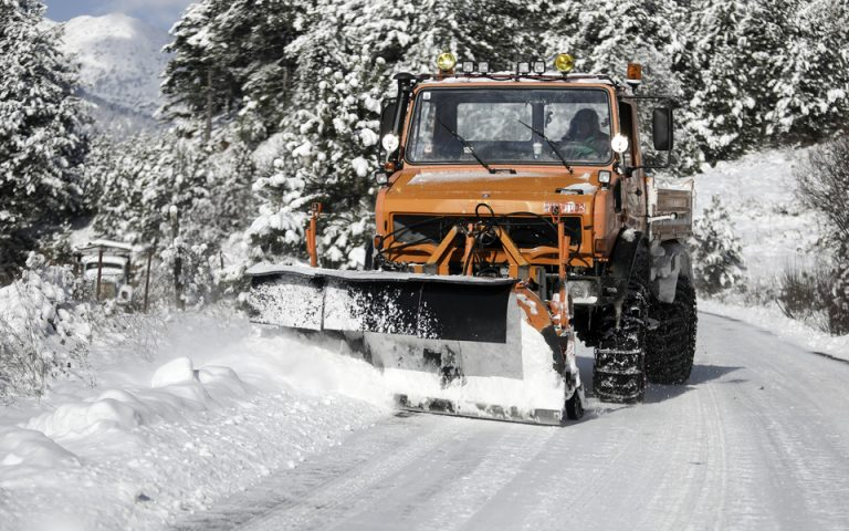 Διακοπή κυκλοφορίας λόγω παγετού στο Πόρτο Γερμενό