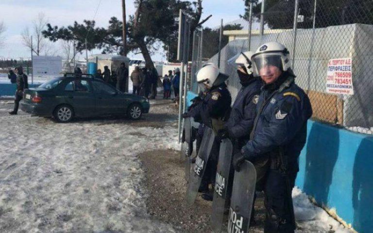 Ένταση στο κέντρο φιλοξενίας προσφύγων στα Διαβατά Θεσσαλονίκης