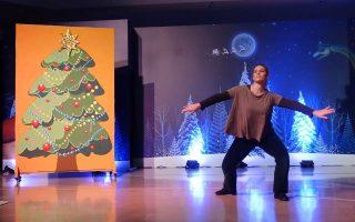 Συνεχίζεται το εορταστικό πρόγραμμα «Ενας δεινόσαυρος κάτω από το δένδρο» στο Μουσείο Φυσικής Ιστορίας.