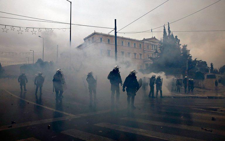 ΝΔ κατά κυβέρνησης για τα επεισόδια στο συλλαλητήριο